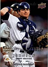 2008 Upper Deck First Edition # 271 Rob Johnson Seattle Mariners (Baseball Card) Dean's Cards 8 - NM/MT Mariners