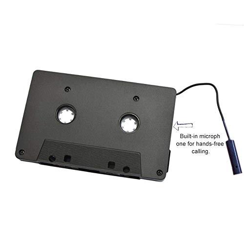 Adaptador de cinta de casete Bluetooth para coche, conversor de cinta Bluetooth portátil para iPhone MP3 iPad Android