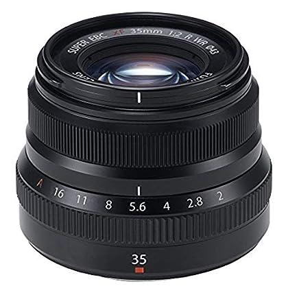 Fujifilm F XF35MMF2 R WR, Objetivo 35mm, Color Negro