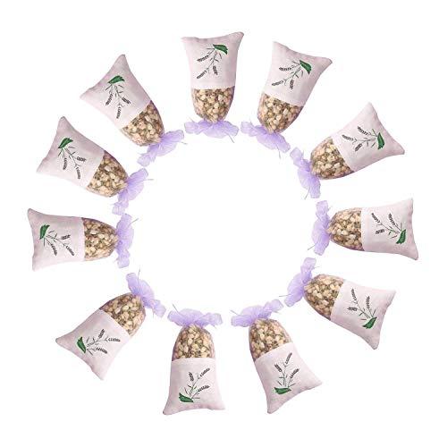TanShine Natürliche natürliche getrocknete Blumen, handgefertigt, 10 Stück Jasmin