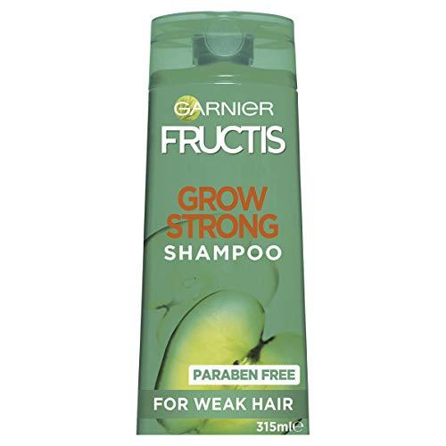 Garnier Fructis Grow Strong Shampoo for Stronger Hair, 315ml