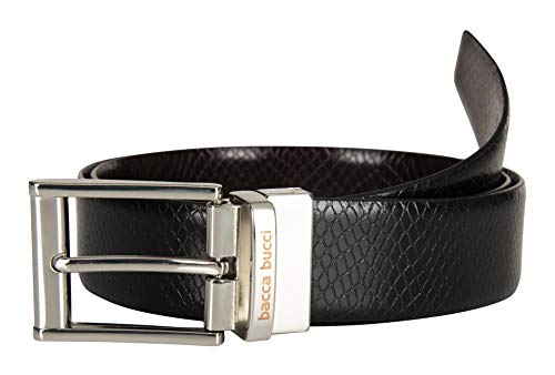 Bacca Bucci® Men's Reversible Genuine Leather Belt