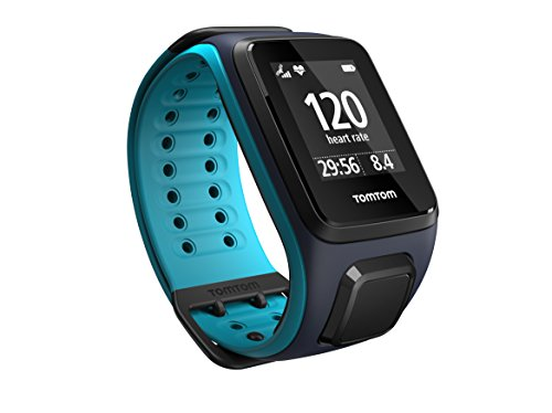 TomTom Runner2 Cardio - Reloj deportivo, color turquesa / azul, talla L (143-206 mm) 🔥