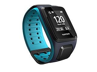TomTom Runner 2 Cardio - Montre GPS - Bracelet Large Bleu Marine / Turquoise (ref 1RF0.001.01) (B0156G3PDQ)   Amazon price tracker / tracking, Amazon price history charts, Amazon price watches, Amazon price drop alerts