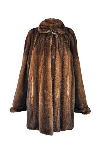Zerimar Chaqueta Vison Peletería | Chaquetas Mujer | Chaquetas Mujer Pelo | Chaqueta Elegante Mujer | Abrigo Mujer | Abrigo Mujer Pelo
