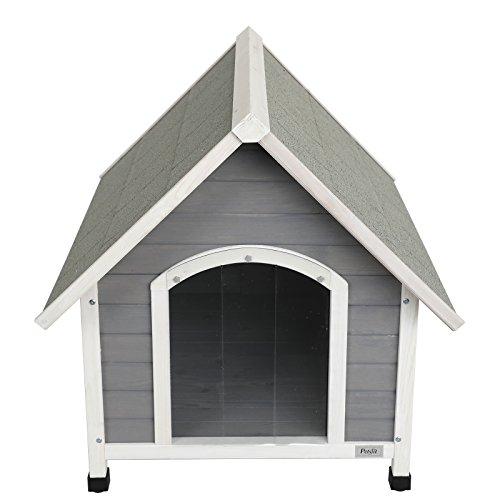 Petsfit Outdoor Wooden Dog/Pet House
