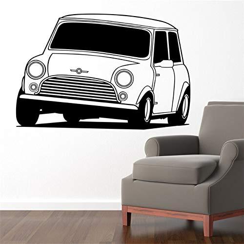 BailongXiao Creative Hot Car Art Dodge Challenger Bedroom Wall Sticker Artist Home Decoration Vinyl Decal Living Room Wallpaper 87x60cm