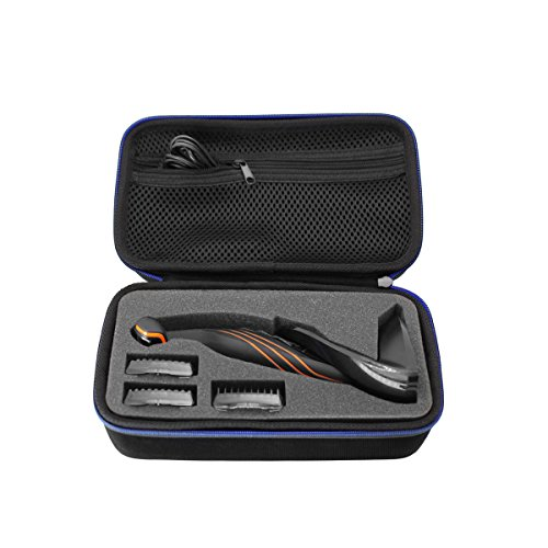 Hard Travel Case Bag for Philips Norelco Bodygroom Series 3100 Body Groomer with Skin Comfort System - BG2024/15 BG2034 BG2036/32 by GUBEE