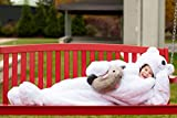 Snoozzoo The All New Children Polar Bear Sleeping Bag