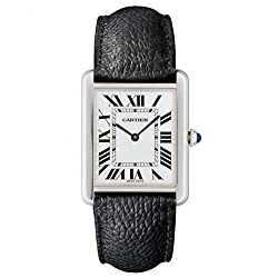 Cartier Tank Solo Ladies Watch - the best under 35mm watch for small wrist ladies
