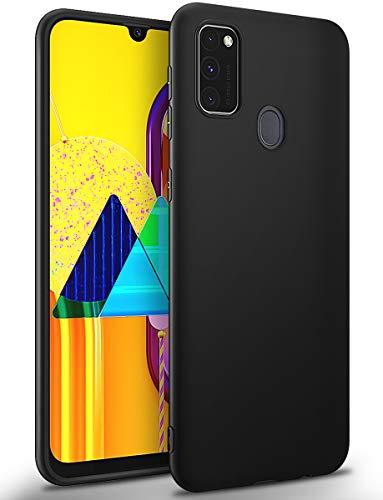 BENNALD Hülle für Samsung Galaxy M21/M30s Hülle, Soft Schutzhülle Hülle Cover - Premium TPU Tasche Handyhülle für Samsung Galaxy M21/M30s (Schwarz,Black)