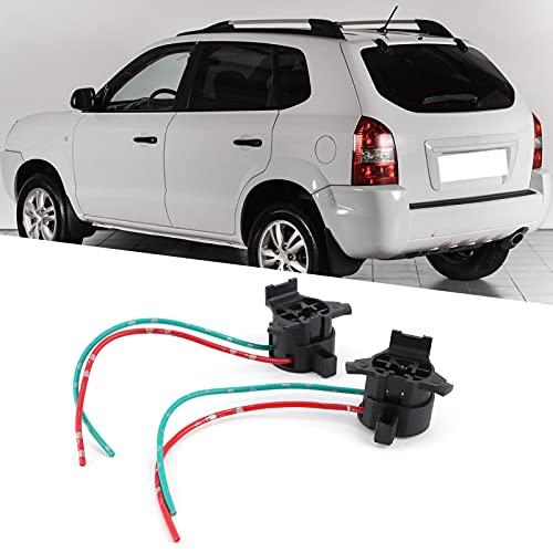 Soporte para luz trasera, portalámparas para lámpara trasera, zócalos precableados Plug and Play para coche