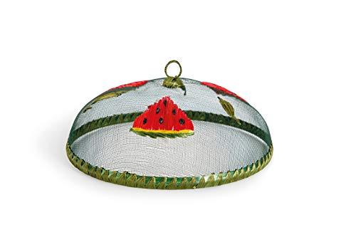 Excelsa Watermelon Coprivivande a Rete, Verde e Rosso, Diametro: 30 cm