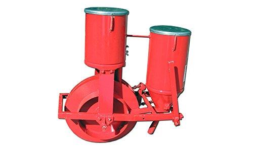 Imbriano Macchine Agricole Seminatrice Trainata con Erogatore di Concime Zilli
