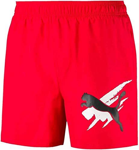 PUMA ESS+ Summer Shorts Graphic XXL rot (high Risk red)
