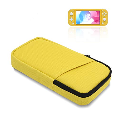 Slim Carrying Case for Switch Lite, Protective Travel Case for Switch Lite - Yellow