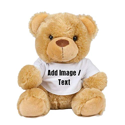 Getagift Personalised Teddy Bear with your Own Text/Image/Message Unicorn,...