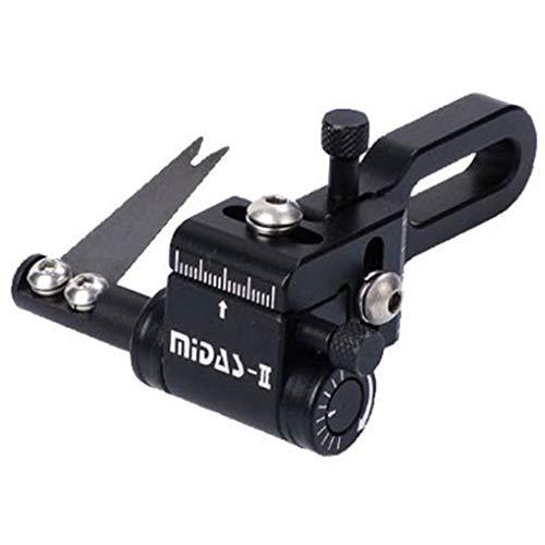 Cartel New Bogenschießen Midas II Einstellbare Compound Bogen Pfeil Launcher Rast Schwarz (Right)