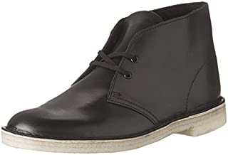Clarks mens Desert Chukka Boot, Black Leather, 11.5 US (B0040FQJV0) | Amazon price tracker / tracking, Amazon price history charts, Amazon price watches, Amazon price drop alerts