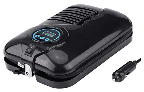 Inflador de neumáticos portátil, bomba de compresor de aire portátil de neumático digital 12V 100 PSI Función de auto apagado Bomba de aire eléctrica para automóviles, bicicletas, RV, bolas