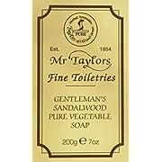 Taylor of Old Bond Street 200g Sandalwood Pure Vegetable Bath Soap