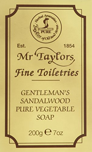 TAYLOR OF OLD BOND STREET Sandelholz Badeseife, 200 g