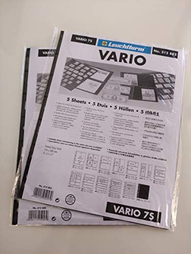 Lighthouse VARIO 7S Stamp Stock Pages -5 Pages