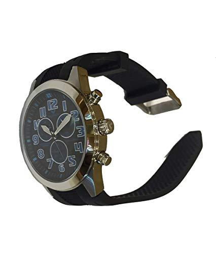 Viceroy 432103-35 Reloj de Hombre con cronógrafo y Correa de Caucho Negra WR 50 Metros