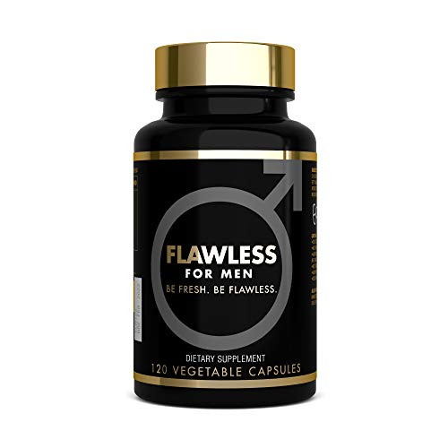 FLAWLESS FOR MEN - Digestive Cleanliness Fibre Supplement Proven Formula...
