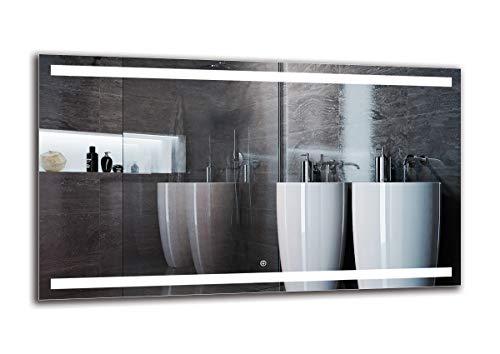 Espejo LED Deluxe   Dimensiones Espejo 120x70 cm