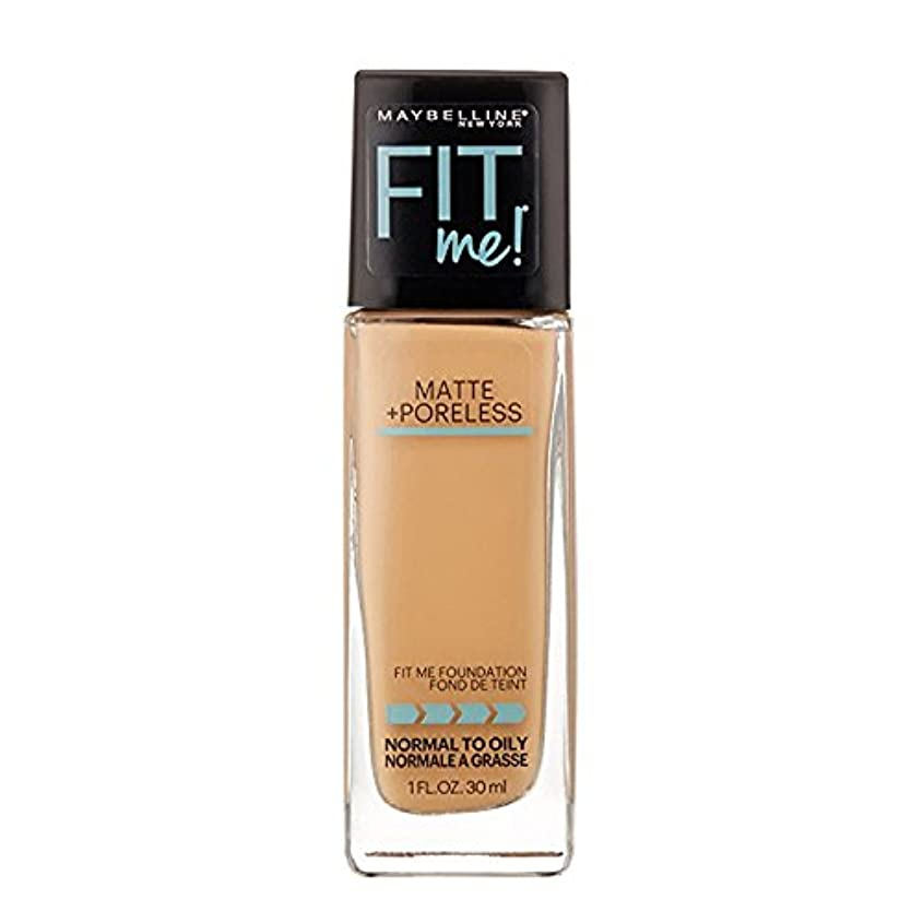 一緒ノイズパック(6 Pack) MAYBELLINE Fit Me! Matte + Poreless Foundation - Sun Beige 310 (並行輸入品)