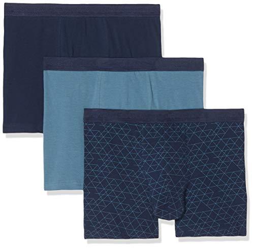 Schiesser Jungen Family 3Pack Shorts Boxershorts, Mehrfarbig (Sortiert 1 901), 140 (Herstellergröße: XS) (3er Pack)