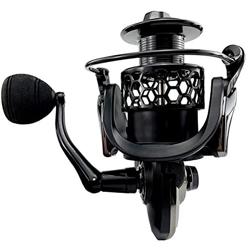 ACYC Carretes de Pesca 5.5: 1 Reel De Pesca 12 Kg De Carrete De Metal Rueda De Rueda Giratoria 1000-7000 (Size : GTA2000)