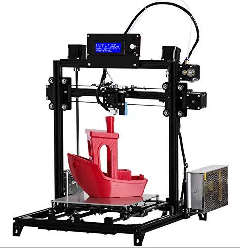 Nouveaux Kits d'imprimante 3D de Bricolage de Bureau, Auto-Assemblage de Haute précision, portabilité personnelle de Bricolage,Black
