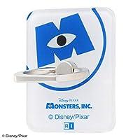 INGREM スマホリングアクリルモンスターズインクロゴ IJ-DABKR/MI003 モンスターズ・インク/ロゴ