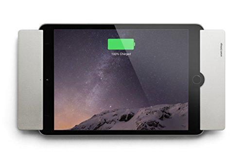Smart things s18 s sDock Mini 4 Silber 2.Generation - Abschließbare, um 90° drehbare Wandhalterung, Ladestation, Fotorahmen für Apple iPad Mini 4 + 5