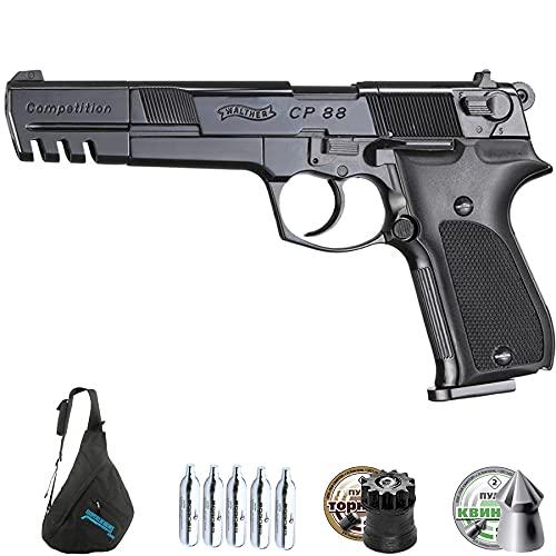 Pistola de balines Profesional Walther CP88 CO2 Competicion 5,6