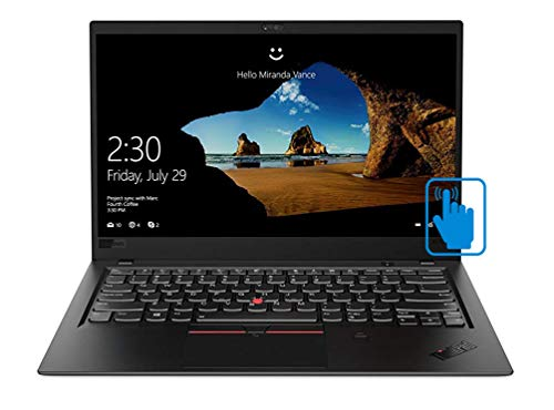 "Lenovo ThinkPad X1 Carbon 7th Generation Ultrabook: Core i7-8565U, 16GB RAM, 512GB SSD, 14"" FHD Touchscreen Display, Backlit Keyboard"