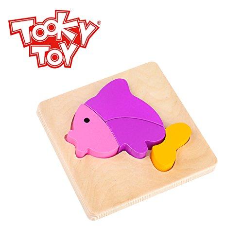 Wooden Mini Puzzle Fish