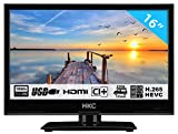HKC 16M4H TV PEQUEÑA (16 Pulgadas) TV LED (Full HD, sintonizador...