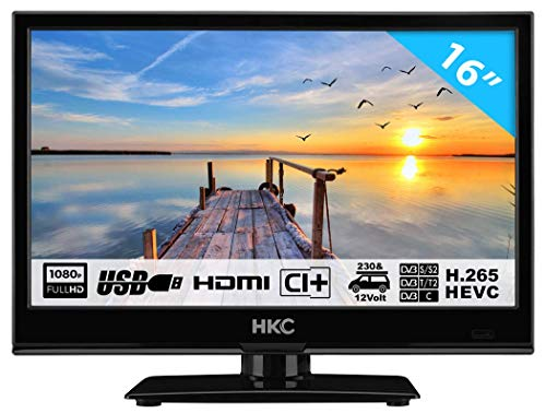 HKC 16M4H TV SMALL TV (16 pollici) LED (Full...