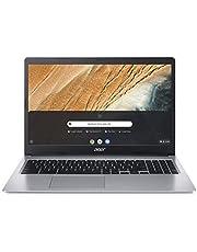 Acer Chromebook 315 15,6 tum Full HD IPS pekskärm matta, 20 mm smal, extremt lång batterilivslängd, snabb WLAN, microSD-kortplats, Google Chrome OS) Silver, a_NA