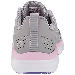 Under Armour girls Grade School Assert 9 Running Shoe, Gray Wolf (100 Pacific Purple, 4.5 Big Kid US