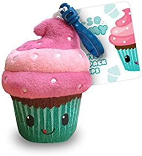 Scentco Oh So Yummy Backpack Buddies - Scented Plush Toy Clips - Cupcake