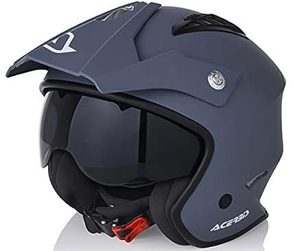 Acerbis casco Jet aire L (59/60) gris (0022569.070.066)