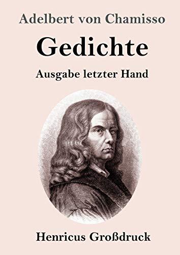 Gedichte (Großdruck): Ausgabe letzter Hand