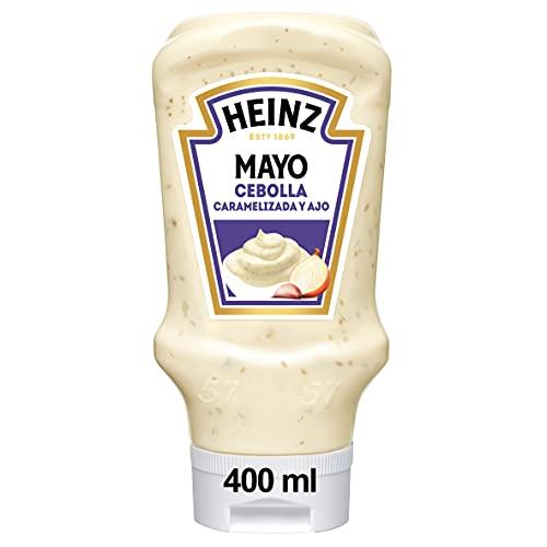 Heinz Mayonesa con Cebolla Caramelizaday Ajo envase 395g
