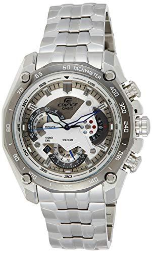 CASIO EF-550D-7AVDF (ED391) ED391 (ED391) - Orologio da polso da uomo, cinturino in acciaio inox colore argento