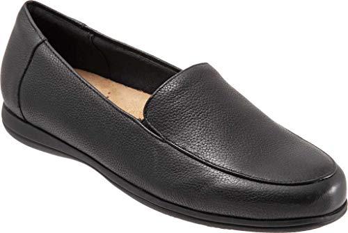 Trotters Deanna Black Leather 7.5 M (B)