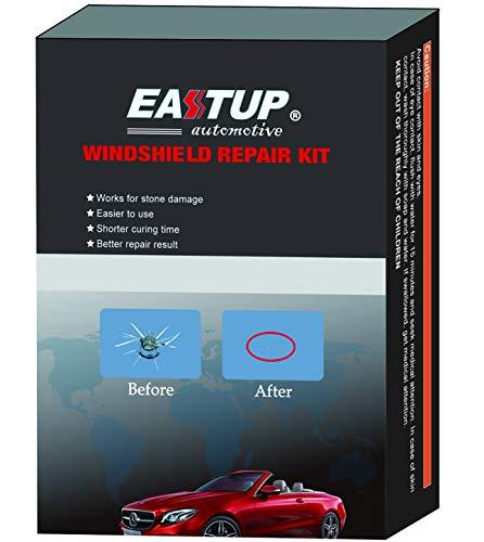 EASTUP Auto Windschutzscheiben Reparatursatz Werkzeug Windshield Repair Kit Windschutzscheibenwerkzeug